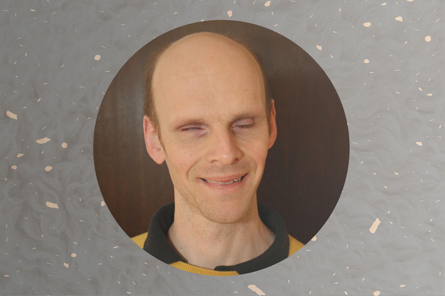 Porträttbild på Henrik Götesson, Synskadades Riksförbund